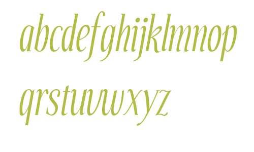 Echelon Italic V1 V2