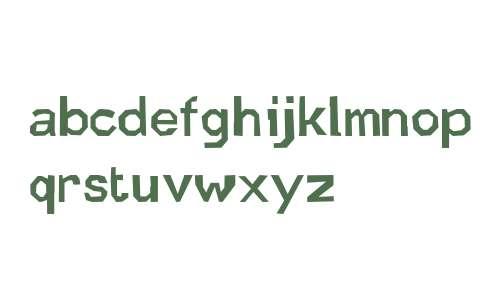 Quickstep Sans Bold