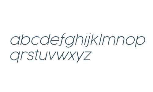 Cocogoose Pro UltraLight Italic