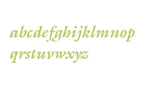 ITC Galliard W02 Bold Italic