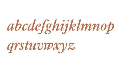 Ehrhardt* MONOTYPE Semi Bold Italic