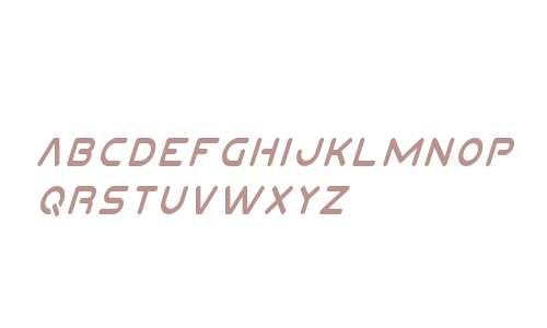 Planet N Condensed Italic