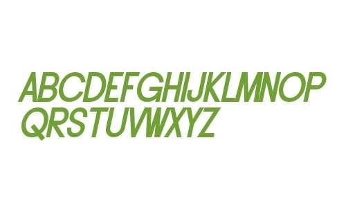 SF Buttacup Lettering Bold Oblique V2 V2