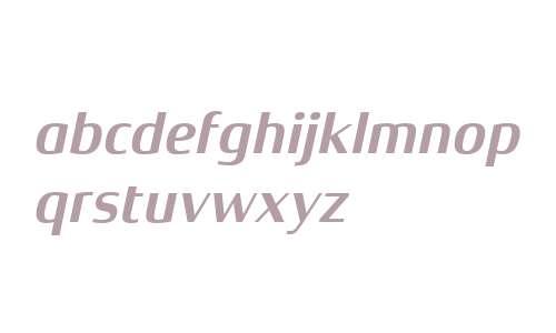Xenois Semi W04 Bold Italic
