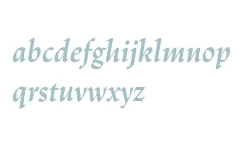 Trajanus LT W04 Bold Italic