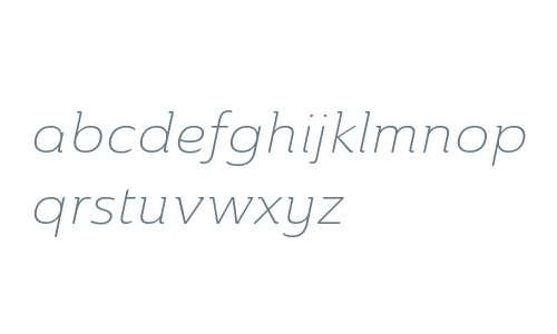 Ainslie W01 Ext Light Italic V2