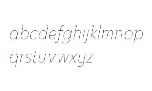 Ainslie W01 Cond Thin Italic V1