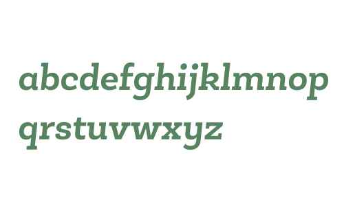 Roble Alt W03 Bold Italic