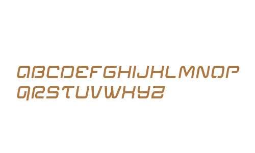 Miracle Mercury Semi-Bold Semi-Italic