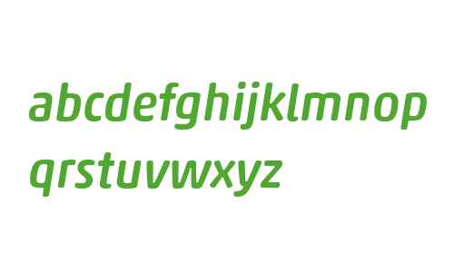 Akko Rounded W04 Medium Italic