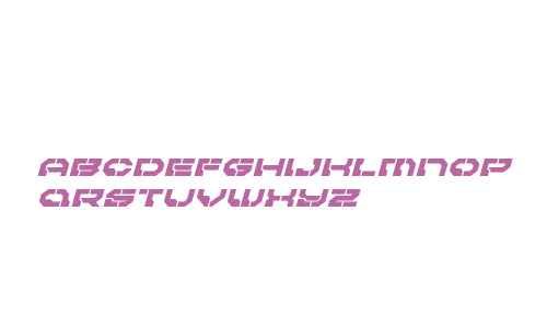 Pulsar Class Expanded Italic