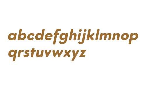 Core Sans G Rounded 75 ExtraBold Italic