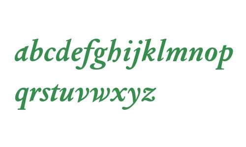 Columbus MT W04 Bold Italic