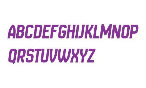 New Amsterdam Italic