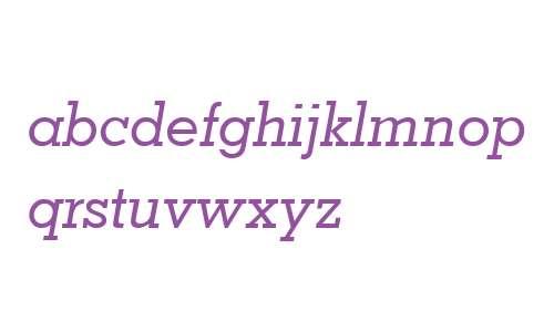 Nashville Medium Italic