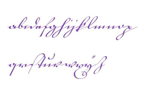 18th Century Kurrent Text