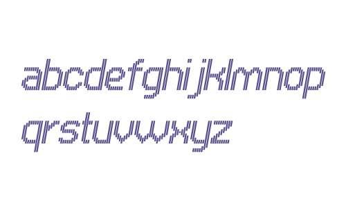 UNDAVertical Fine Italic W00