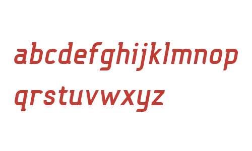 FouMixBol W00 Italic