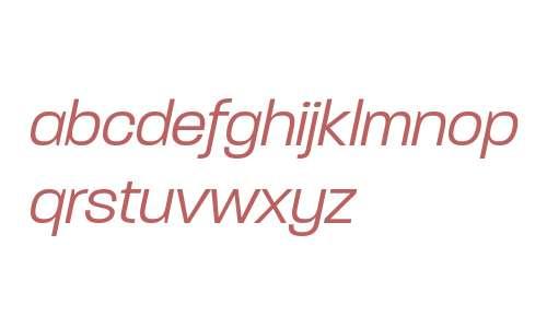 Paralucent W00 Light Italic