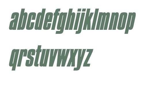 Commador Heavy Italic