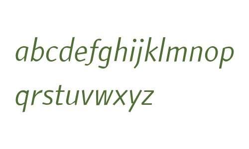 ATF ArumSans W01 Italic