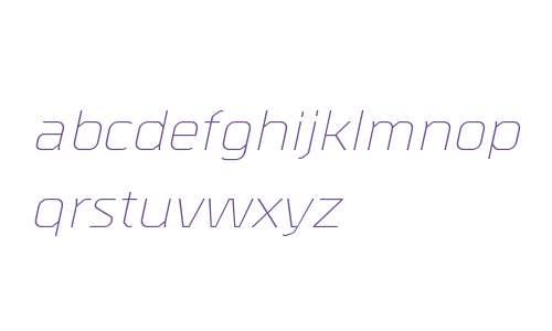 Metral W00 Light Italic