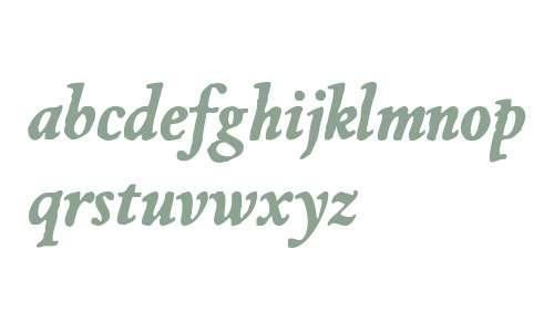 JMH Espinosa Bold Italic