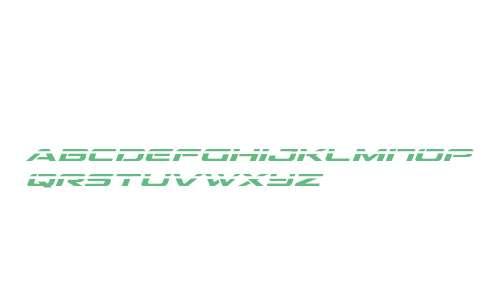 Outrider Laser Italic Italic