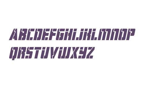 Hard Science Italic