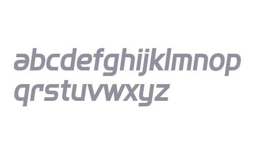 SF Fourche Bold Italic
