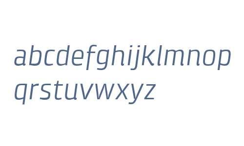 Klint W04 Italic