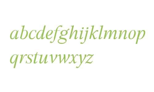 GHEA Aspet W01 Book Italic