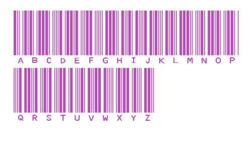 IDAHC39M Code 39 Barcode