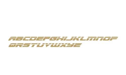 Speed Phreak Super-Italic