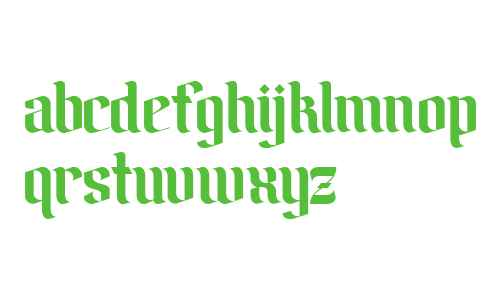 Amika Blackletter Free Font