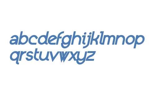Kerater W00 ExtraBold Italic