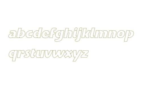 Penguin Outline OT W03 Italic