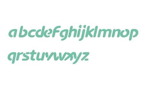 AdvanceBla W00 Italic