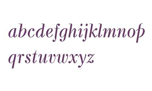 Kuzanyan W08 Italic