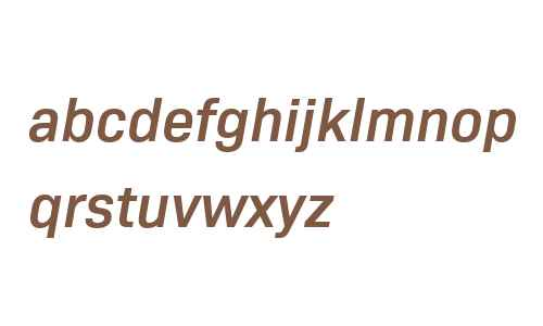 Bio Sans W04 SemiBold Italic