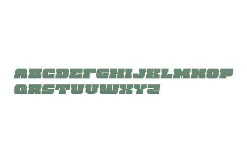 Kittrick Expanded Semi-Italic