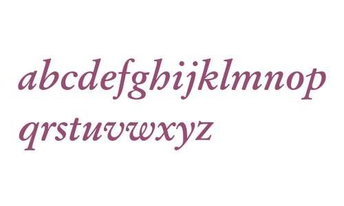 12 pt Stempel Garamond* Bold Italic 14108