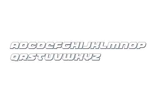 Front Runner 3D Italic