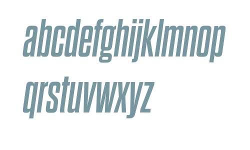 Dharma Gothic M W03 Bold Italic