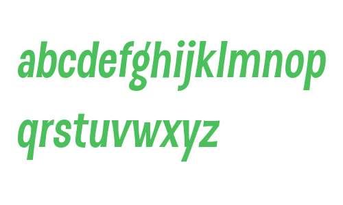 D Sert W01 Bold Italic