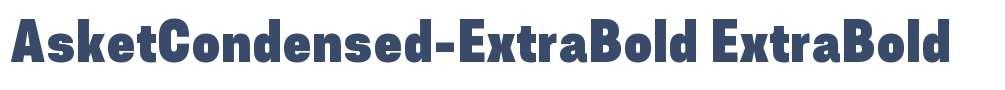 AsketCondensed-ExtraBold