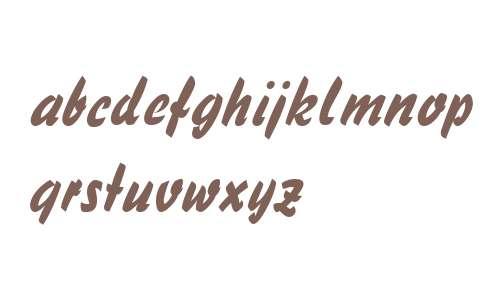 Handybrush Italic