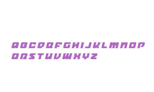 Legacy Cyborg Title Italic