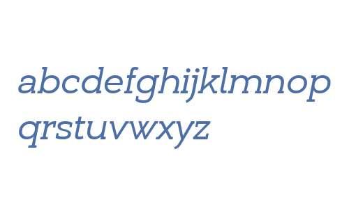 Umba Slab Demo Italic