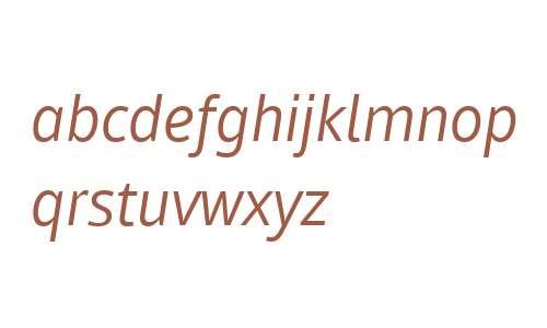 Mayberry W02 Italic